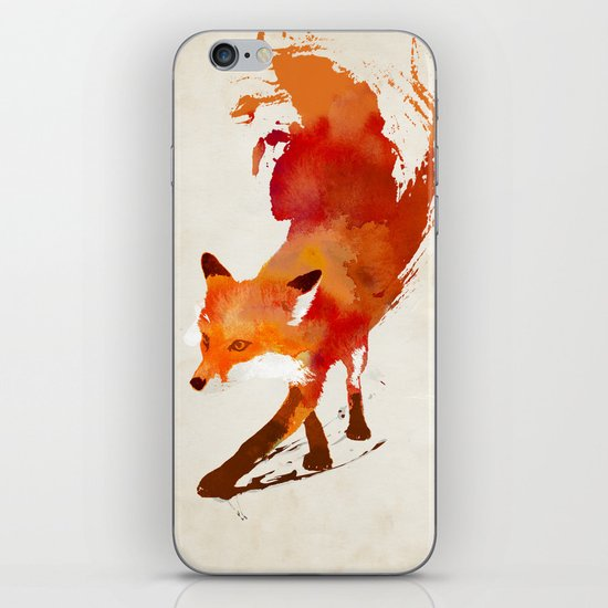Vulpes vulpes iPhone & iPod Skin