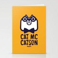 Cat Mc Catson Stationery Cards