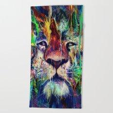 Lion Beach Towel