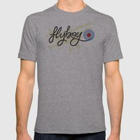 Flyboy Mens Fitted Tee Athletic Grey SMALL