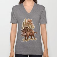 Boar Of The Woods Unisex V-Neck