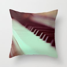 Piano Part 2 Throw Pillow