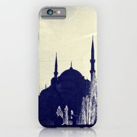 iPhone & iPod Case featuring Blue Istanbul by Amdis Rain