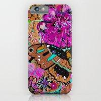 Neon Butterflies iPhone 6 Slim Case