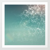 Art Print featuring Fresh Summer Abstract Ba… by AMULET