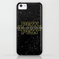 Pew Pew V2 iPhone 5c Slim Case