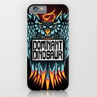 iPhone & iPod Case featuring Dominant Owl by dominantdinosaur