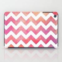 Watercolor Chevron. iPad Case