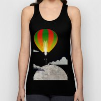 Picnic In A Balloon On T… Unisex Tank Top