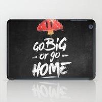 Go Big or Go Home Mario Inspired Smash Art iPad Case
