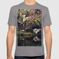 the pond Mens Fitted Tee Tri-Grey SMALL