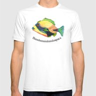 H Is For Humuhumunukunuk… Mens Fitted Tee White SMALL
