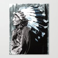 Native American Chief 2 Canvas Print