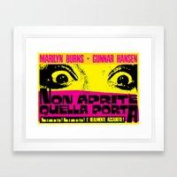 August 18, 1973: Punk Rock locandina #1 Framed Art Print