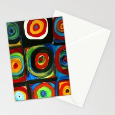 Color Study Stationery Cards