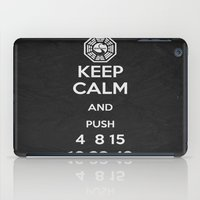 Keep Calm - Lost Poster iPad Case