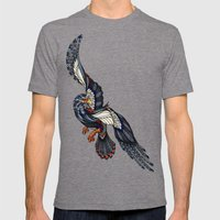 Eagle // Animal Poker Mens Fitted Tee Tri-Grey SMALL