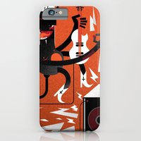 """iPhone & iPod Case featuring """"Devil"""" Monster Rock by Torso Vertical, Illustration and Design"""
