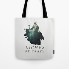 Lich (Typography) Tote Bag