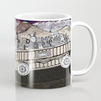 Animals On A Wagon Mug