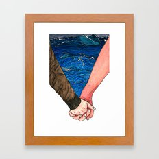 Until The End Framed Art Print