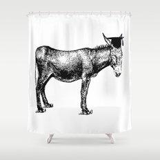 Smart ass Shower Curtain