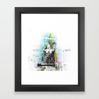 Higher Framed Art Print