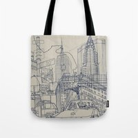 New York! Tote Bag