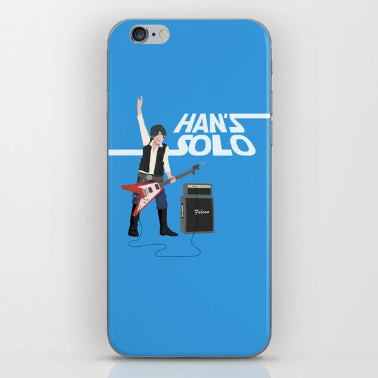 Han's Solo iPhone & iPod Skin