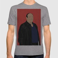 Sopranos - Tony Soprano - Paulie Gualtieri Mens Fitted Tee Athletic Grey SMALL