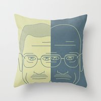 Breaking Bad - Faces - D… Throw Pillow