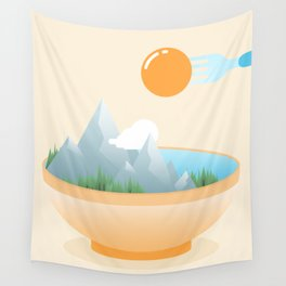 Wall Tapestry - Eat the World - Moremo