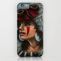 iPhone & iPod Case featuring .:Princess Mononoke:. by Kimberly Castello