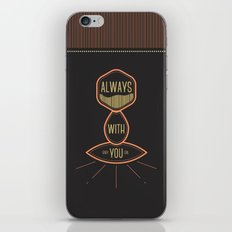 Always with you baby girl iPhone & iPod Skin