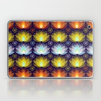 Variations on a Lotus I - Sparkle Brightly Laptop & iPad Skin