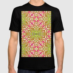 Ethnic Tribal Pattern G3… Mens Fitted Tee Black SMALL