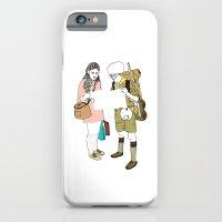 moonrise kingdom iPhone & iPod Cases featuring moonrise kingdom by joshuahillustration