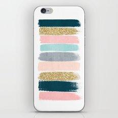 Zara - Brushstroke Glitt… iPhone & iPod Skin
