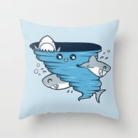 Cutenado Throw Pillow