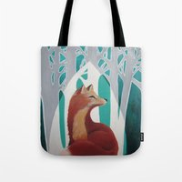 Fox Cathedral Tote Bag