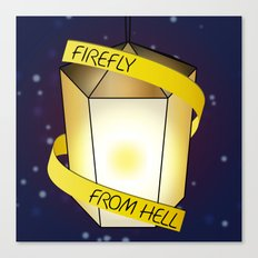 Firefly from Hell Canvas Print
