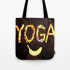 YOGA-B-SMILE Tote Bag