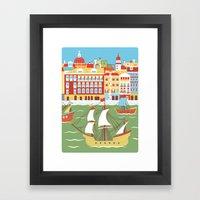 Canal Grande Framed Art Print