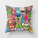 ToyZ. Throw Pillow