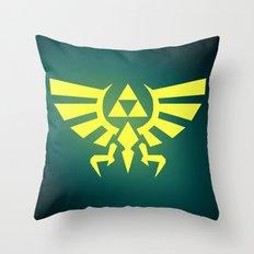 Zelda Triforce Throw Pillow