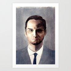 Jim Moriarty Art Print