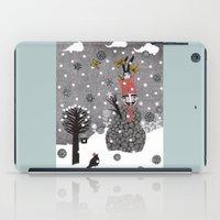 Snow Magician iPad Case