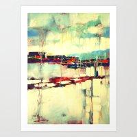 Warsaw III - Abstraction Art Print