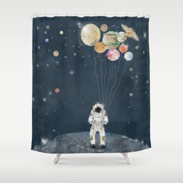 Shower Curtain - solar collector  - bri.buckley