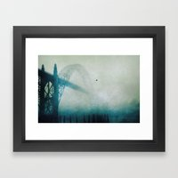 Into The Fog Framed Art Print